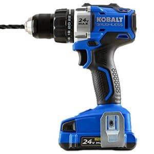 Kobalt 24V Cordless Brushless Drill