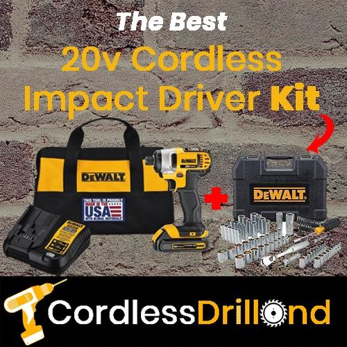 Best 20v Cordless Impact Driver Kit