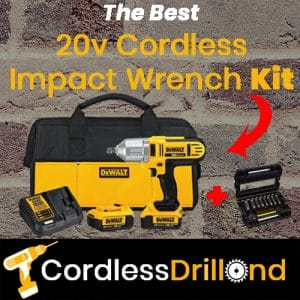 Best 20v Cordless Impact Wrench Kit