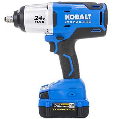 Kobalt 24v Cordless Impact Wrench