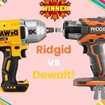 Ridgid vs Dewalt Cordless Impact Wrench Who Wins